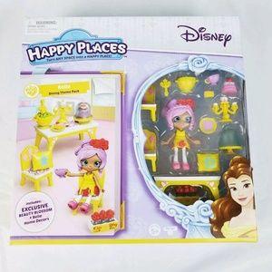Disney Happy Places Belle Theme dining set